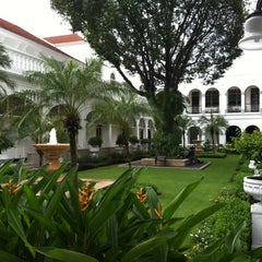Photo taken at Hotel Majapahit by Irene T. on 4/26/2012