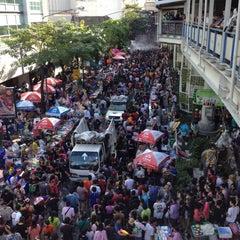 Photo taken at Songkran Festival 2012 by IamAon on 4/15/2012