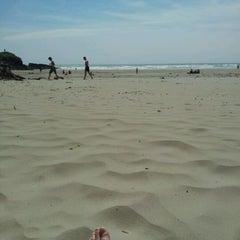 Photo taken at Inchydoney Beach by Nora-Anne D. on 5/26/2012