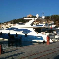 Photo taken at Porto di Santa Teresa di Gallura by Paola M. on 7/29/2012