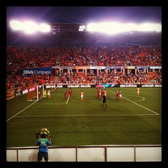 Photo taken at BBVA Compass Stadium by William B. on 8/26/2012