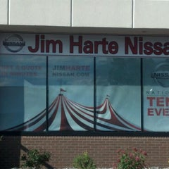 Photo taken at Jim Harte Nissan by Adam R. on 6/7/2012