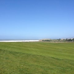 Photo taken at Half Moon Bay Golf Links by Jackson H. on 4/1/2012