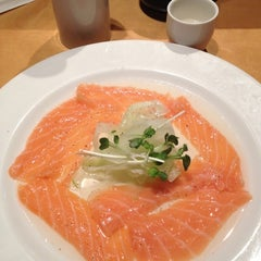 Photo taken at Kazu by Richard on 9/5/2012