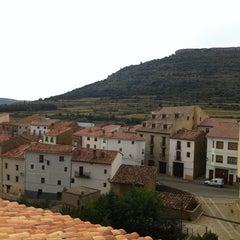 Photo taken at Hospederia de La Iglesuela Del Cid by Juan Carlos G. on 8/19/2012