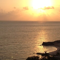 Photo taken at Playa Langosta by Jeff W. on 4/1/2012