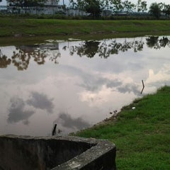 Photo taken at Kolam Tadahan Air 1 a.k.a Fishing Spot. by mj y. on 4/8/2012
