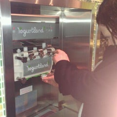 Photo taken at Yogurtland by Catherine A. on 3/8/2012