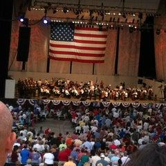 Photo taken at Verizon Wireless Amphitheatre at Encore Park by Mindy L. on 7/5/2012