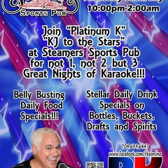 Photo taken at Steamers by R.K. Entertainment on 7/9/2012