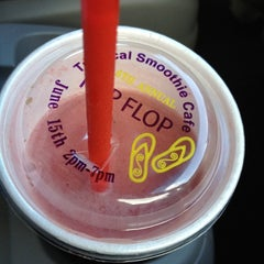 Photo taken at Tropical Smoothie Cafe by Jamie F. on 6/15/2012