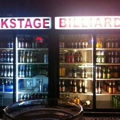 Photo taken at Backstage Billards by Arturo J. on 8/13/2012