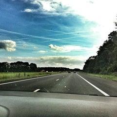 Photo taken at A6 Noordoostpolder by Egbert N. on 9/6/2012