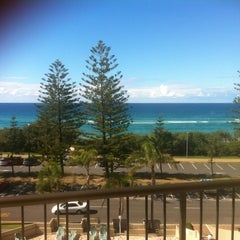 Photo taken at Burleigh Heads Park by Natalie K. on 5/19/2012