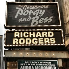 Photo taken at Richard Rodgers Theatre by René S. on 6/13/2012