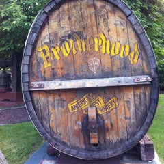 Photo taken at Brotherhood, America's Oldest Winery by Dre V. on 6/16/2012