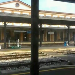 Photo taken at Stazione Lucca by Dave C. on 9/11/2012