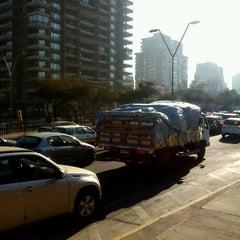 Photo taken at Paradero PC876 (Parada 5) by Andres L. on 7/13/2012