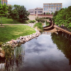Photo taken at Centennial Lakes Park by Kevin N. on 6/17/2012