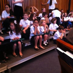 Photo taken at Temple Rodef Shalom by Marcus S. on 5/4/2012