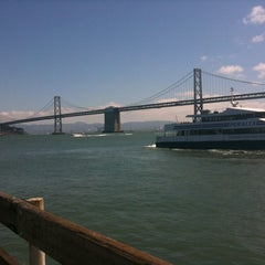 Photo taken at Central Embarcadero Piers by Geraldina S. on 8/26/2012