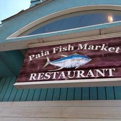 Photo taken at Paia Fish Market Restaurant by Renata T. on 3/13/2012