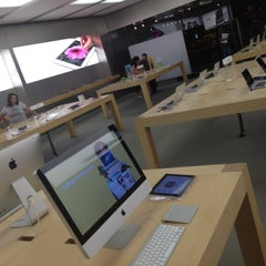Photo taken at Apple Store, The Promenade Shops at Briargate by Allen S. on 8/25/2012