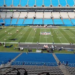 Photo taken at Bank of America Stadium by Mike R. on 8/17/2012
