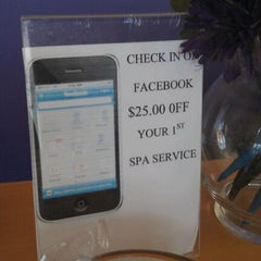 Photo taken at Body & Soul Spa by 4sq Expert on 3/8/2012