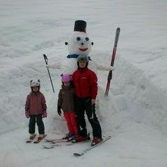 Photo taken at Skigebiet Schlossalm - Angertal / Ski amadé by Gabriela Dedkova on 3/25/2012