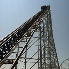 Photo taken at Millennium Force by Tyler C. on 7/2/2012