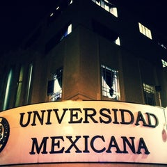 Photo taken at Universidad Mexicana by Jonathan A. on 2/23/2012