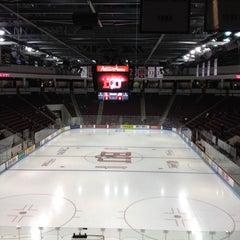 Photo taken at Agganis Arena by Alicia R. on 2/18/2012