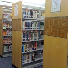 Photo taken at Maribelle M. Davis Library by Susan P. on 3/24/2012