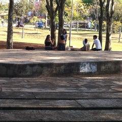 Photo taken at Praça da Paz by Rajesh D. on 9/2/2012