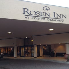 Photo taken at Rosen Inn at Pointe Orlando by Danilo M. on 8/20/2012