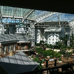 Photo taken at Gaylord Opryland Resort and Convention Center by Benjamin W. on 4/13/2012