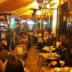 Photo taken at Café le Soufflot by Alex W. on 3/9/2012