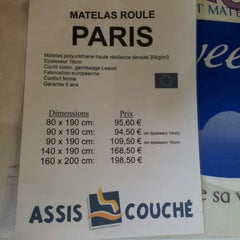 Photo taken at Assis Couché by Longboard34 D. on 7/26/2012