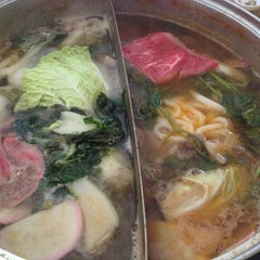 Photo taken at Shabu by Steve on 9/6/2012