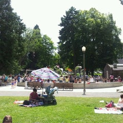 Photo taken at Wright Park by Brandy M. on 6/27/2012