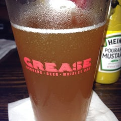Photo taken at Grease Burger, Beer and Whiskey Bar by Melissa F. on 8/19/2012