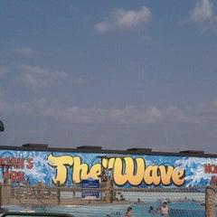 Photo taken at Noah's Ark Waterpark by Glenn🎰 . on 7/4/2012
