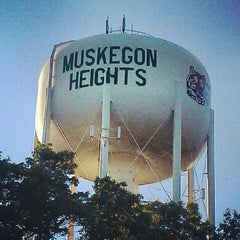 Photo taken at City of Muskegon Heights by CHILLA P. on 6/7/2012
