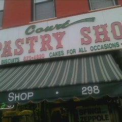 Photo taken at Court Pastry Shop by Allen W. on 3/31/2012