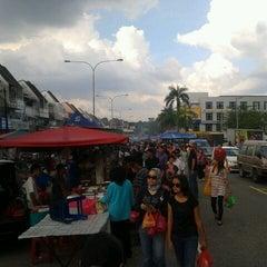 Photo taken at Pasar Malam TTDI by Bryan B. on 7/22/2012