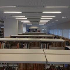 Photo taken at Biblioteca Municipal Emília Xargay by Francesc G. on 6/6/2012
