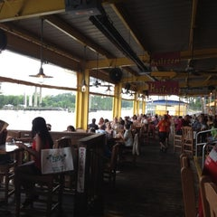 Photo taken at Lulu's at Homeport by Gabriella S. on 7/28/2012