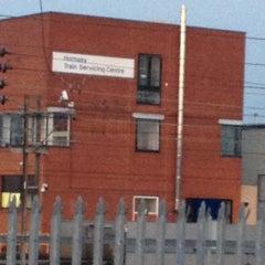 Photo taken at Hornsey Train Servicing Centre by Brett V. on 4/2/2012