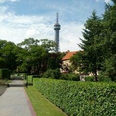 Photo taken at Petřínské zahrady | Petřín Gardens by David V. on 6/8/2012